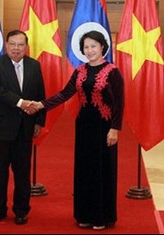 Tiếp tục đẩy mạnh, tăng cường hợp tác giữa hai Quốc hội Việt - Lào