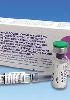 """Hà Nội: Gần 10.000 liều vaccine Pentaxim đăng ký """"hết veo"""""""