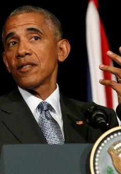 Tổng thống Obama xoa dịu tranh cãi tại sân bay Hàng Châu, Trung Quốc