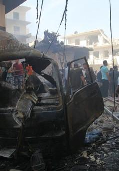 Trận mưa không kích tại Syria, ít nhất 100 người thiệt mạng