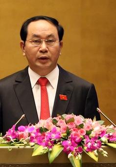 Chủ tịch nước Trần Đại Quang thăm cấp Nhà nước CHDCND Lào