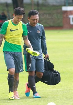 AFF Suzuki Cup 2016: Chân sút chủ lực của ĐT Indonesia sớm chia tay giải đấu