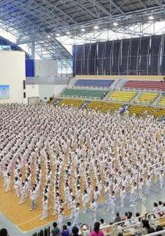 Giải thi đấu thể dục dưỡng sinh TP.HCM xác lập kỷ lục đồng diễn