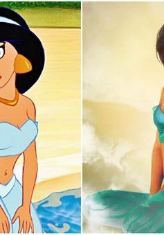 Khi nhan sắc của các công chúa Disney được đưa ra ngoài đời thực