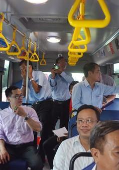 TP.HCM áp dụng thí điểm 3 tuyến xe bus điện