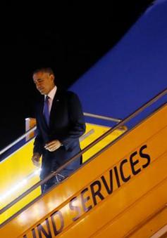 Những hình ảnh đầu tiên của Tổng thống Obama tại Việt Nam