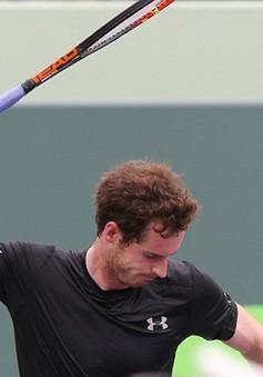 Miami Open 2016: Murray đập vợt 8 lần vì thua ngược Dimitrov