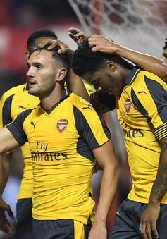 VIDEO, Nottingham Forest 0-4 Arsenal: Tân binh tỏa sáng