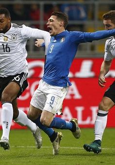 Italia 0-0 Đức: Hòa kịch tính, không bàn thắng
