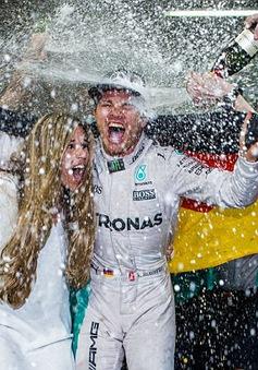 F1: Nico Rosberg giành chức vô địch thế giới đầu tiên