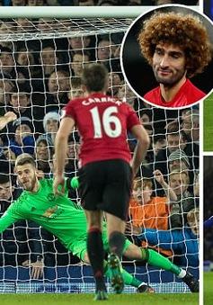 Everton 1-1 Manchester United: Ibra ghi siêu phẩm, tội đồ Fellaini!