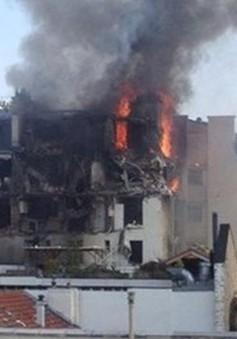 Nổ lớn ở trung tâm Paris (Pháp), 5 người bị thương