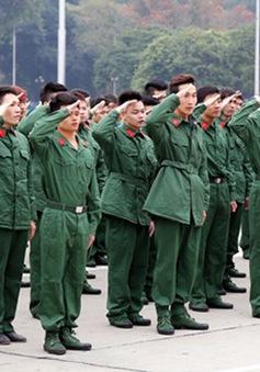 Hơn 4.000 thanh niên Thủ đô nhập ngũ