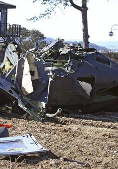 Rơi trực thăng quân sự tại Hàn Quốc, 4 người thương vong