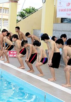 Công tác phổ cập bơi chưa được chú trọng tại ĐBSCL