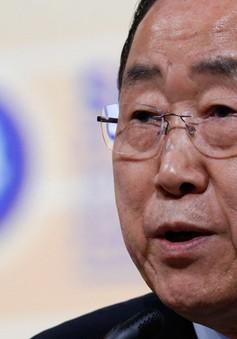 Tổng Thư ký LHQ Ban Ki-moon thăm Hy Lạp