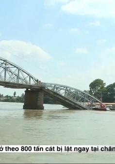 Liên tiếp xảy ra nhiều vụ tàu đâm vào cầu