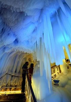 """Phiên bản thực của lâu đài băng giá trong phim """"Frozen"""" ở Trung Quốc"""