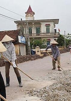 Huy động vừa sức dân - kinh nghiệm xây dựng NTM ở Nam Định