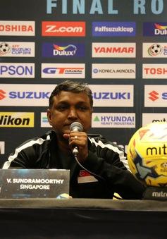 HLV Singapore, Sundramoorthy quyết đánh bại Indonesia để hy vọng vào bán kết AFF Cup