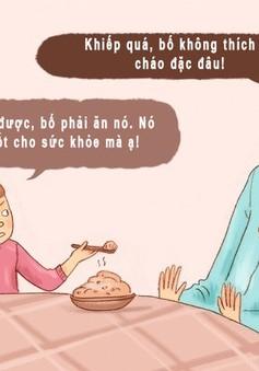 Những khoảnh khắc cha mẹ cư xử hài hước như trẻ con
