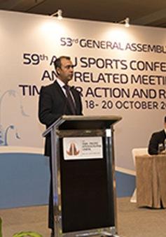 Đài THVN được bầu vào Ban Tài chính của ABU Sports Group