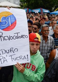 Venezuela: Tuần hành yêu cầu trưng cầu dân ý về Tổng thống