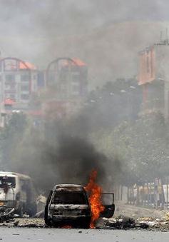 Tấn công bằng rocket gần trụ sở Quốc hội Afghanistan