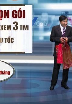 """Khán giả phấn khởi nhận quà """"Rộn ràng lộc Xuân - Ai cào cũng trúng"""" của VTVcab"""