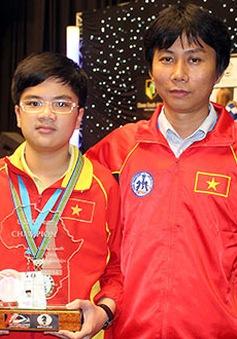 Kỳ thủ 14 tuổi Nguyễn Anh Khôi vô địch cờ vua hạng Nhất toàn quốc