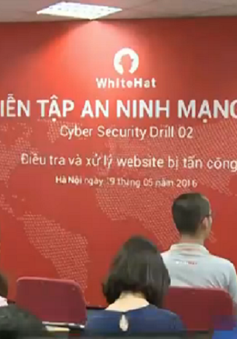 Diễn tập an ninh mạng trực tuyến toàn quốc