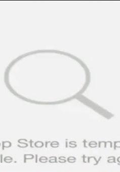 Apple nỗ lực khắc phục sự cố trên App Store