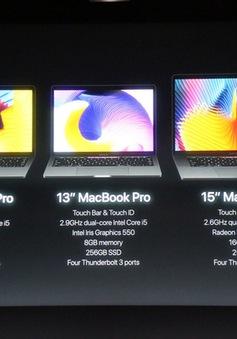 MacBook Pro 2016 ra mắt: Siêu mỏng, siêu nhẹ, hỗ trợ Touch ID, Touch Bar