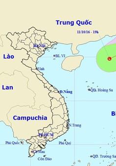 Áp thấp nhiệt đới suy yếu