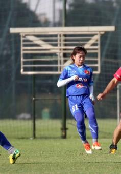 ĐT nữ Việt Nam đại thắng 8-0 trong trận đá tập với đội Lão tướng Hà Nội