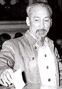 Chủ tịch Hồ Chí Minh với cuộc Tổng tuyển cử đầu tiên