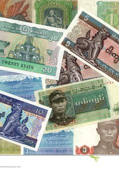 Đồng tiền Myanmar tăng giá mạnh nhất châu Á