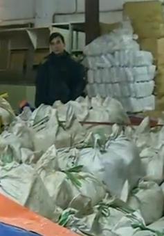Thu giữ hàng tấn sản phẩm bánh kẹo quá hạn sử dụng