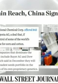 Báo chí quốc tế quan tâm đặc biệt việc Trung Quốc mở rộng cây trồng biến đổi gen