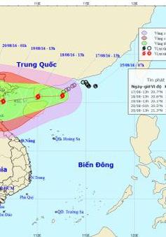 Bão số 3 sắp đổ bộ Quảng Ninh - Nghệ An, rủi ro thiên tai cấp 3