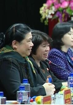 Phó CTQH Tòng Thị Phóng gặp các nữ Trưởng đại diện cơ quan nước ngoài