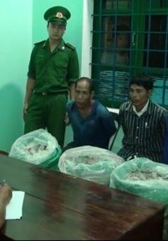 Quảng Trị bắt vụ vận chuyển gần 80kg thuốc nổ