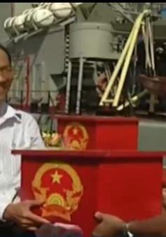 Vũng Tàu tổ chức bầu cử sớm cho các lực lượng trên biển