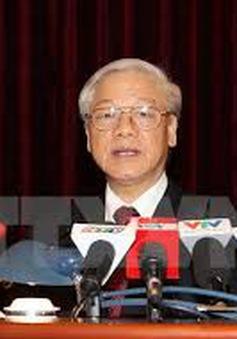 Tổng Bí thư Nguyễn Phú Trọng chủ trì hội nghị triển khai bầu cử đại biểu Quốc hội XIV