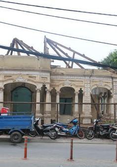 TP.HCM yêu cầu xử lý nghiêm việc tháo dỡ biệt thự cổ 100 tuổi