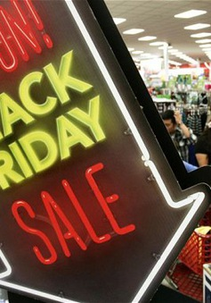 Không có cảnh chen lấn trong ngày Black Friday tại Mỹ
