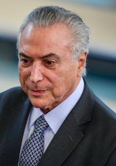 Tổng thống lâm thời Brazil bị tố cáo dính líu tới tham nhũng