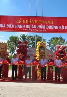 Khởi công mở rộng hầm đường bộ Hải Vân 2