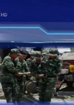 Xử lý an toàn quả bom nặng 340kg tại Bạc Liêu