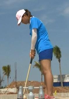 Phùng Thị Thương giành HCV môn bóng gỗ